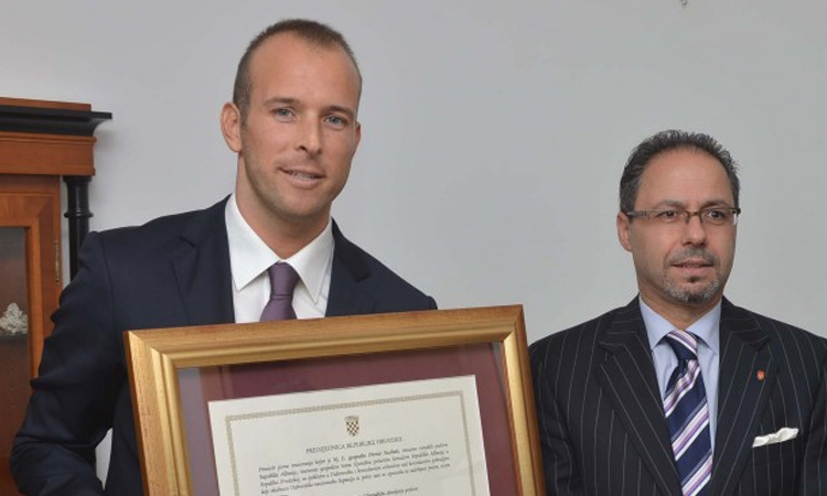 Ivan Gjurasic appointed Honorary Consul of Albania in Dubrovnik