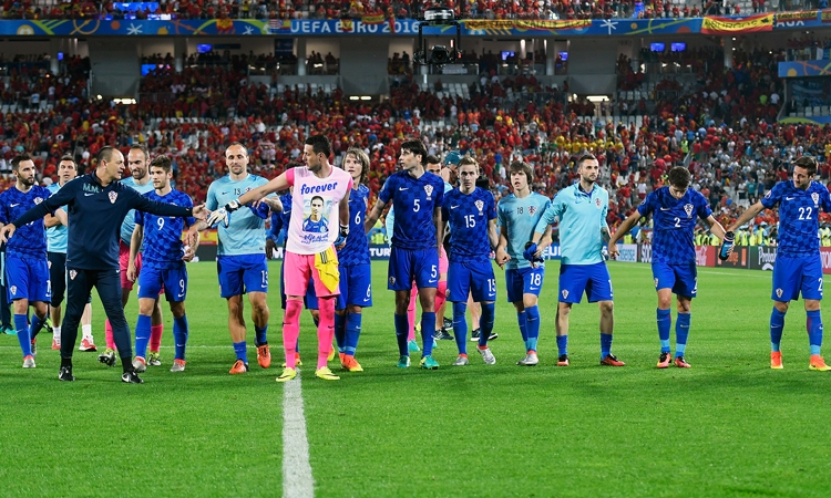 Croatia defeat European Champions Spain