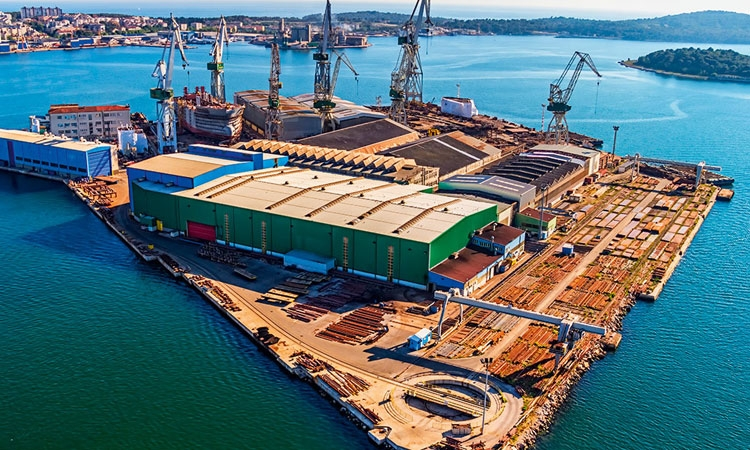 Croatian shipbuilding industry booked solid for three years