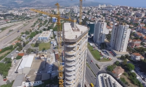 VIDEO – Watch the tallest building in Croatia grow