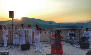 Welcome to Summer 2017 with Ana Rucner concert overlooking Dubrovnik