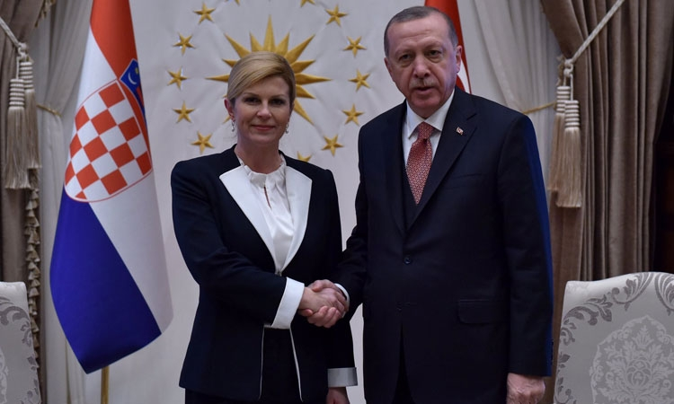 Croatian President on working visit to Turkey