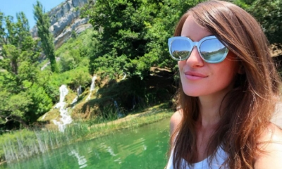 Jenna Ezarik in Croatia