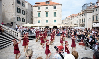 PHOTO – Majorettes thrill Dubrovnik audience
