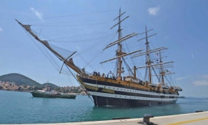 The most beautiful ship in the world came to Dubrovnik