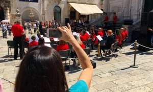 Brass band in Dubrovnik