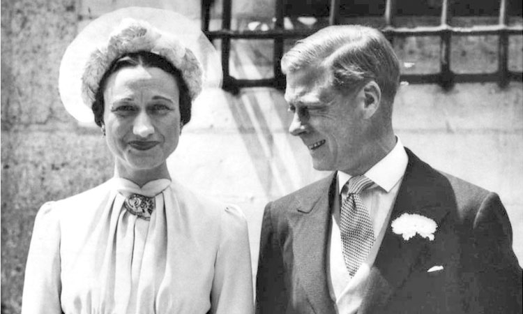 King Edward VIII and his Miss Wallace Simpson