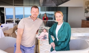 Editor of The Frankfurter magazine currently in Dubrovnik as promotion for tourist season continues