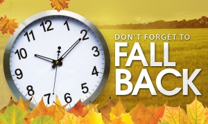 Clocks go back on the 30th of October
