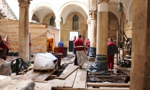 Works on Rector's Palace underway