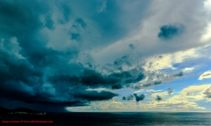 PHOTO – Twister over Dubrovnik opens week with a bang