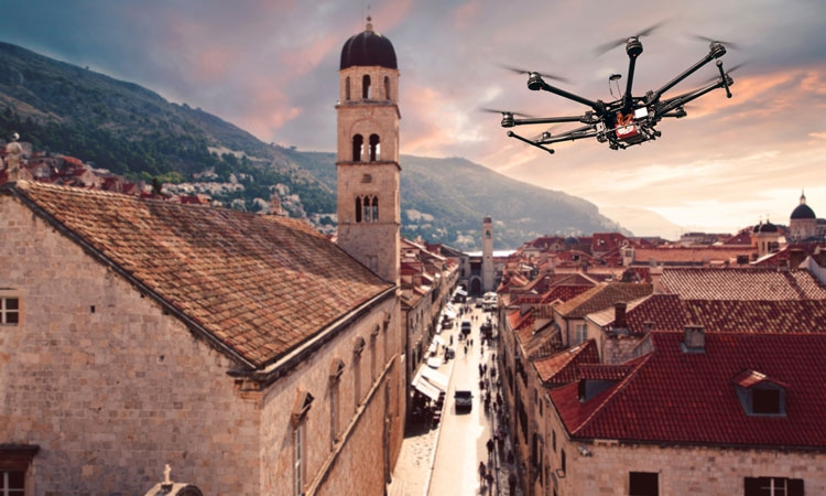 Drone users need reams of permissions to fly in Croatia