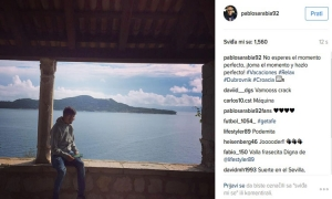 Another famous football player visits Dubrovnik