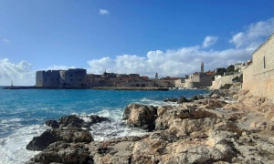 PHOTO – Cracking start to the week in Dubrovnik