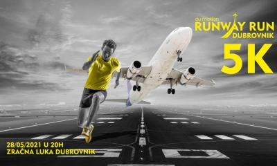 Unique running event in Dubrovnik – Runway Run 2021