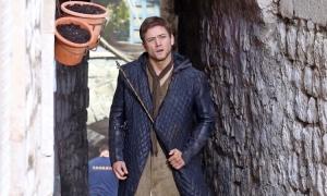 Taron Egerton reveals that he wasn't happy on the set of Robin Hood