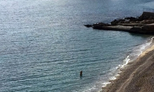 From snow to swimming in just two days – winter dipping in Dubrovnik