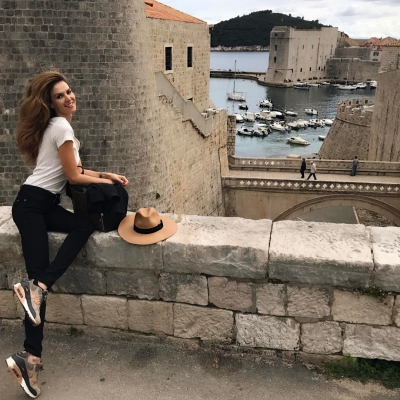 ''Turkish Cindy Crawford'' loves Dubrovnik