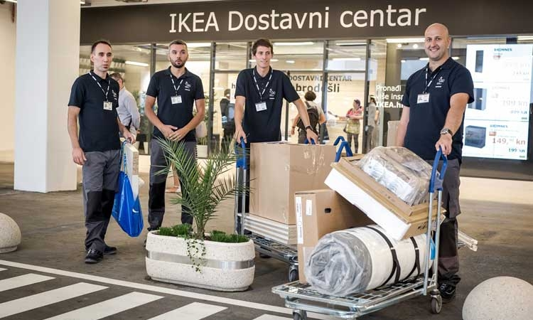 IKEA opens in Split