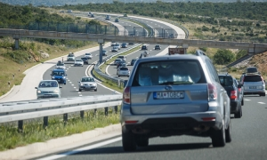 Huge increase in vehicles on Croatian motorways as July proves a busy month