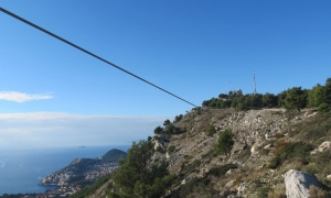 Is this a Zip Line above Dubrovnik?