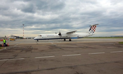 Croatia Airlines lands for first time in Bucharest
