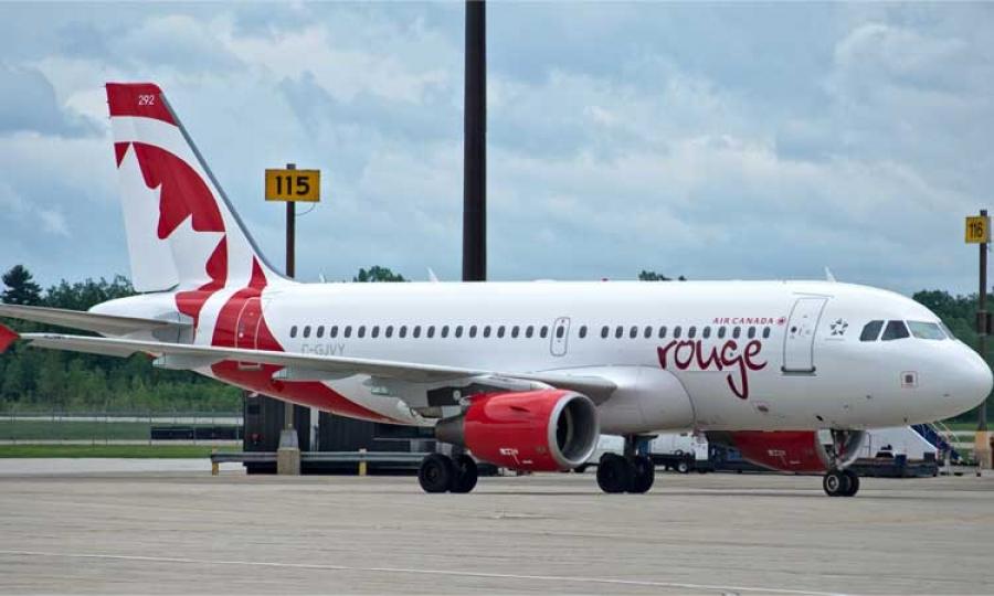 vliegtuig air canada