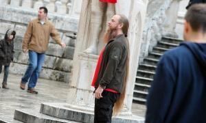 Hair-raising style in Dubrovnik