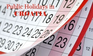 Public Holidays in Croatia in 2019
