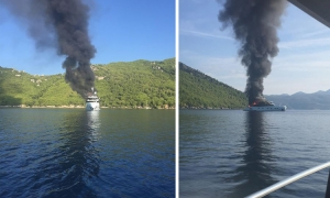 EXCLUSIVE VIDEO – Shocking video as yacht explodes in Dubrovnik seas