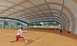 PHOTO – Dubrovnik to get an amazing tennis hall