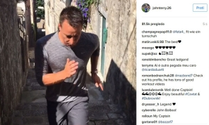 VIDEO John Terry goes 'old school' in Cavtat