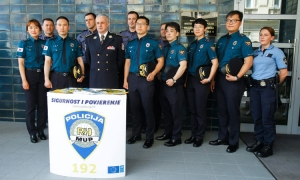 Korean police officers to patrol the streets of Dubrovnik in July and August