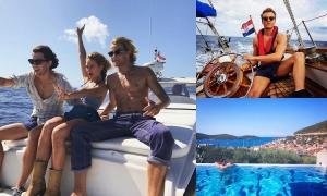 Mamma Mia actors love Croatian island of Vis