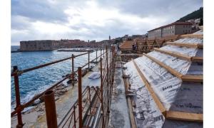 PHOTO - Lazareti complex reconstruction well underway