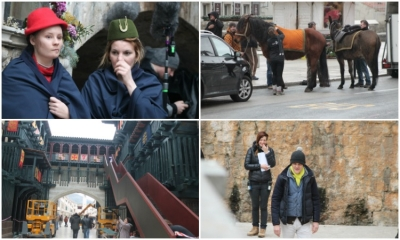 VIDEO/PHOTO – Day 5 of Robin Hood:Origins in Dubrovnik