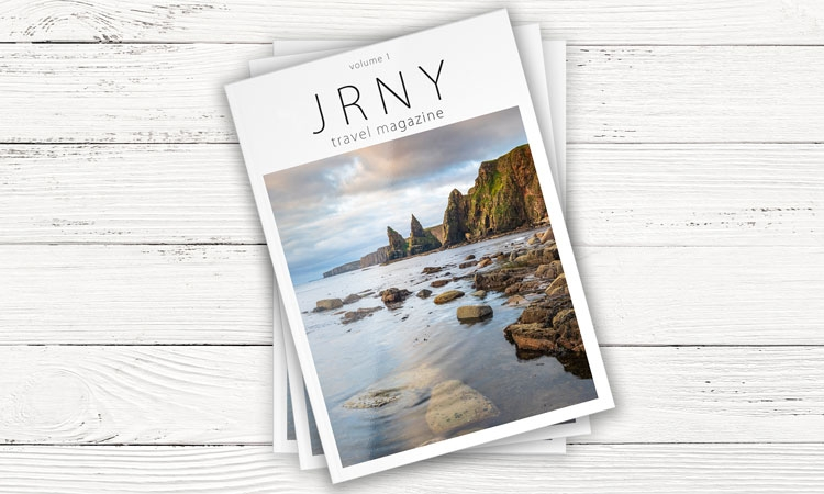 JRNY travel magazine - in a world dominated by lockdowns and restrictions, we all still crave to travel