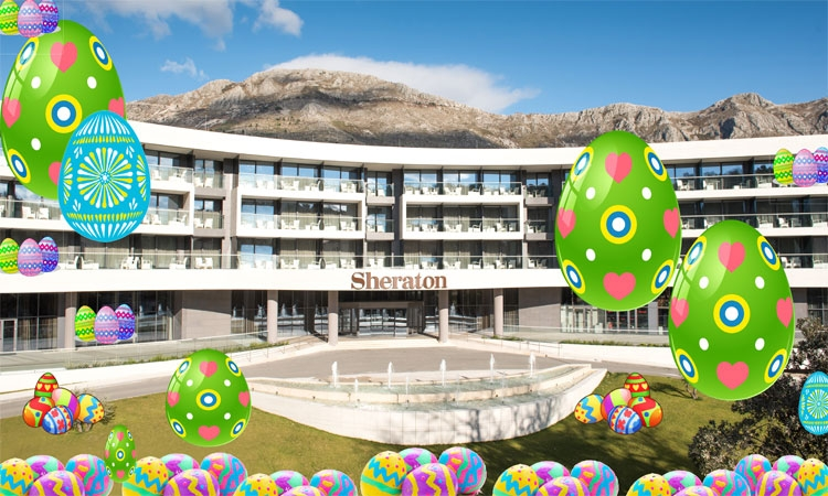 Easter egg hunt at the Sheraton Dubrovnik Riviera