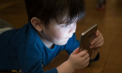 Phones dominating children's lives