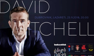 David Mitchell this weekend in Dubrovnik