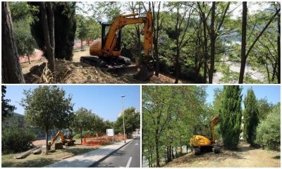Works on the first dog park in Dubrovnik underway