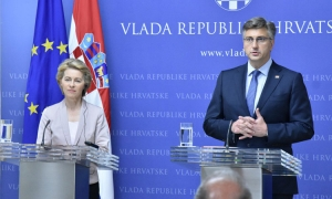 Croatia is an exceptional success story for the European Union - Ursula von der Leyen