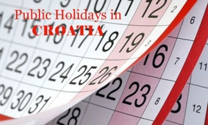 Public Holidays in Croatia in 2017