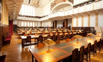 The reading room in the Croatian State Archive