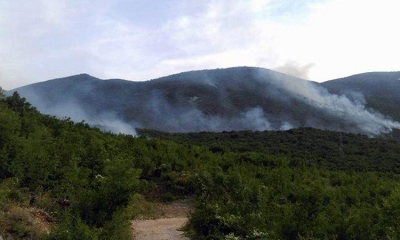 Forest fire over border brings smoke to Dubrovnik