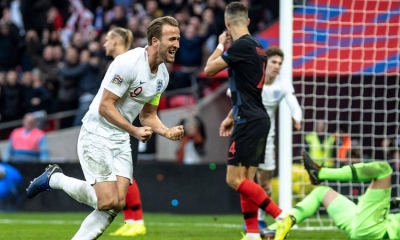 England climb above Croatia in new FIFA rankings