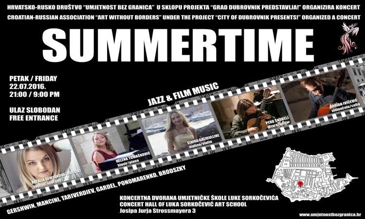 Summertime brings timeless music