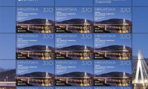 Dubrovnik bridge stamp competes for the most beautiful stamp in Europe