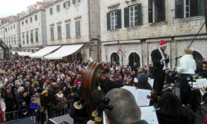 New Year's Day concert by the Dubrovnik Symphony Orchestra